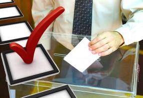 Референдум жана жергиликтүү кеңештерге шайлоо бир добуш берүү участкасында болот