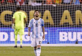 Месси Аргентинанын курамасында карьерасын аяктап жатат