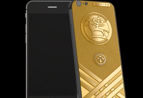 Дүйнөлүк көчмөндөр оюндарынын урматына алтын iPhone 6S пайда болду