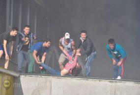 Москвада басмаканадагы өрттөн кыргызстандыктарды аман алып калган мекендештер унутулган жок