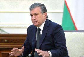 Шавкат Мирзиёев Өзбекстан президенттигине өз талапкерлигин койду