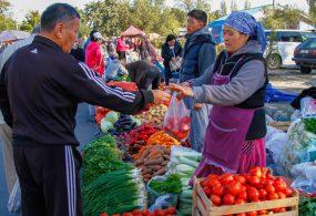 Бишкекте айыл чарба жарманкелери уланууда