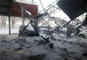 Бишкектин автобазарындагы чатырчанын урашынан унааларга келген чыгым 60 миң долларды түздү