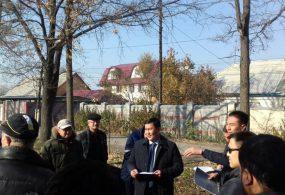 Бишкек тургундары кезектеги жолу эс алуу багын сактап калышты