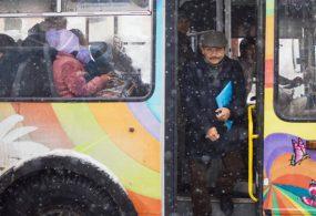 Бишкекте акысыз ташуучу троллейбус кое берилди