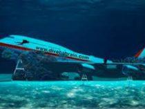 В Бахрейне намеренно затопили «Боинг-747»