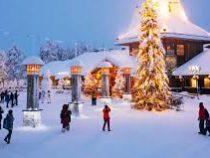 В Лапландии построили снежный замок Муми-троллей