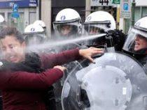 Во Франции в ходе субботних протестов пострадали 24 человека