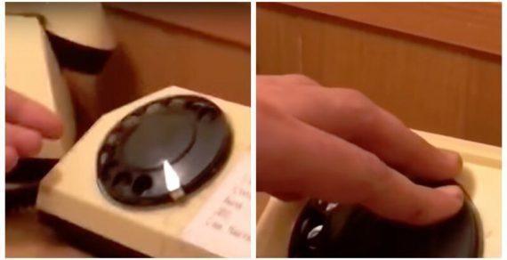 20-летний солдат не смог набрать номер на дисковом телефоне