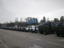Военная техника из России прибыла в Кыргызстан