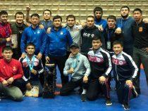 Сборная КР по вольной борьбе заняла 3 место на турнире в Иране
