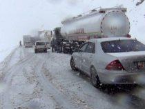 Снегопад привел к опасности схода лавин на горные дороги