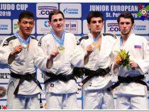 Кыргызстанец выиграл «серебро» на Кубке Европы среди юниоров по дзюдо