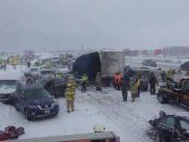 Самое крупное ДТП в истории Висконсина: на трассе столкнулся 131 автомобиль