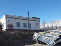 Ликвидация последствий ветра в Иссык-Кульском районе продолжается