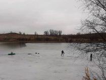 В Лебединовке мальчик провалился под лед