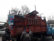 Мэрия Бишкека продолжает борьбу с самовольно установленными объектами