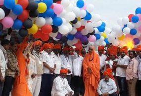 Взорвавшиеся воздушные шары чуть было не сорвали праздник