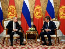 Президенты Кыргызстана и России подписали 17 документов