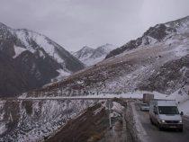 Дорога Бишкек – Ош открыта для проезда транспорта