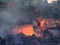 В высокогорном селе в Дагестане сгорели около 30 домов