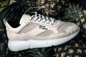 cbf69b66 В Нидерландах выпустили кроссовки сделанные из переработанных листьев  ананаса. Создатели обуви называют ее лучшей для веганов.