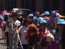 Ежегодный парад кукол прошел в Мексике