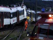 В Чехии два поезда столкнулись «лоб в лоб»