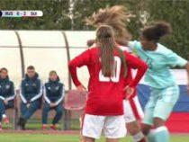 Российские ишвейцарские футболистки подрались во время матча