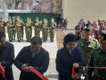 В Таласе пограничники получили новые квартиры