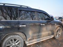 В Чуйской области выявляют тонированные авто