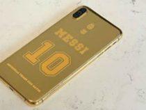 Новый мобильник Месси: 7000 евро, золото 24 карата, эксклюзивная гравировка