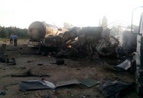 В Оше врезультате взрыва наАЗС пострадали три человека