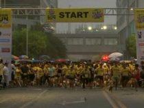 Около тысячи собак со своими хозяевами приняли участие в забеге на Филиппинах