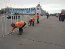 В Бишкеке сбили сотрудника «Тазалыка»