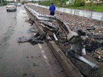 В Бишкеке в ДТП пострадали двое