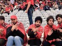 В Иране женщины переодеваются в мужчин, чтобы попадать на футбол