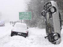 Снежная буря обрушилась на Средний Запад США