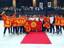 Сборная Кыргызстана по хоккею одержала победу над командой Таиланда