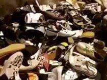 Гору новой обуви обнаружили под мостом в Краснодаре