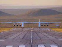 Внебо впервые поднялся самолет ссамым большим размахом крыльев