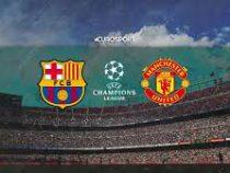 Испанский футбольный клуб «Барселона» разгромил английский «Манчестер Юнайтед»