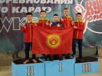 12 медалей выиграли кыргызстанцы натурнире по карате-до