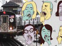 Американец  придумал, как не проспать свою остановку в метро