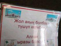 Иностранца тронул поступок кыргызстанского водителя маршрутки