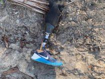 Парашютист во время прыжка потерял ножной протез