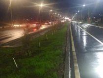 В Бишкеке продолжают ремонтировать освещение
