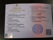 В Бишкеке выдача свидетельств о рождении возобновится сегодня