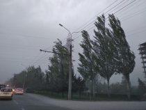 ВБишкеке вближайшие три часа  ожидается шквалистый ветер