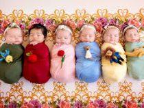 Шестерняшки впервые родились в Польше